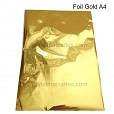 Folha A4 Foil Gold - 2 folhas