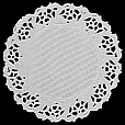 Papel Rendado Branco - Doilies 11cm - 100 unidades