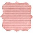 Papel 12 Die cut - Tickled Pink