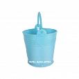 Mini Balde Plástico Azul c/ 12 unidades