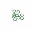 Ilhós de Cravo Verde Pequeno c/ 10 unidades