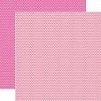 Papel Pink Poá Dupla Face