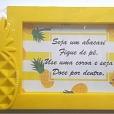 Porta Retratos - Abacaxi Amarelo