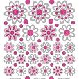 Adesivos Fashion com Glitter Flores