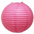 Lanterna de Papel Rosa 35cm