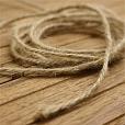 Cordão Natural Rústico - Juta - 30 metros - o rolo