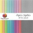 Kit de Papéis Digitais - POÁ GRANDE com 20 folhas