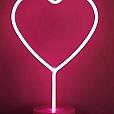 Luminária de Mesa Luz Neon - Coração