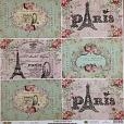 Papel Cartão Postal Paris