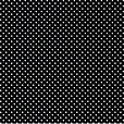 Papel de Presente - Preto Poá Branco Grande