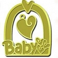 Baby frame silver
