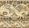 Papel Mapa Mundi SC-112