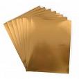 Adesivo Imprimível Dourada c/8 unidades