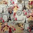 Papel Paris Shabby 4 SC-354