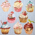 Papel Cupcakes 2
