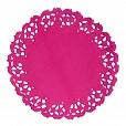 Papel Rendado Pink- Doilies 11cm - c/10 unidades