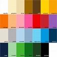 Papel Colorido Criacor A4 - 20 folhas - 180g/m2