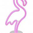 Luminária de Mesa Luz Neon - Flamingo