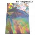 Folha A4 Foil HOLOGRÁFICO - 2 folhas
