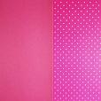 Cartão Decor Classic Pink / Poá Branca 250g