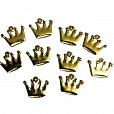Pingente Coroa Princesa c/ 10 unidades