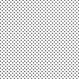 Papel de Presente - Branco Poá Preto Grande