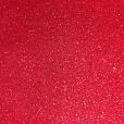 Placa EVA Glitter Vermelho